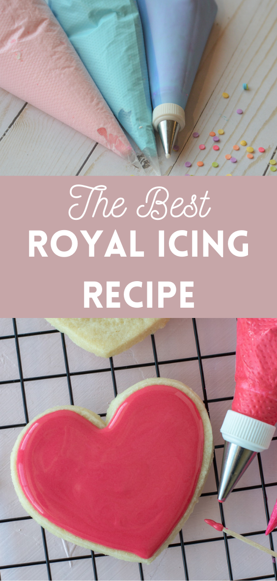 royal icing pin for Pinterest